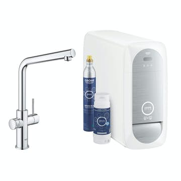 Köksblandare Grohe Blue Home L-pip Starter Kit Bluetooth