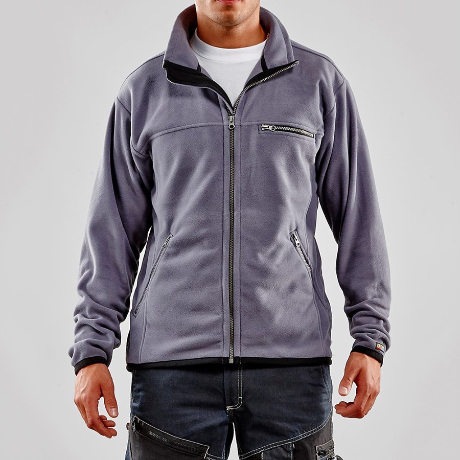 Blaklader 483025109400M Fleece Jacket Grey Size M